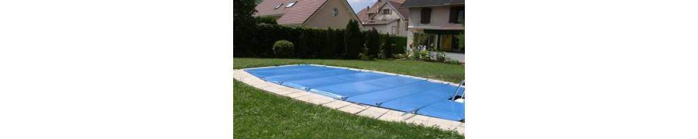 Bâches à barres sur mesure, bâches 4 saisons pour piscine | Bâches Laily
