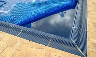 Bâche à bulles sur mesure piscine