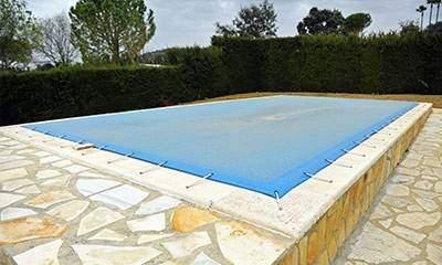Bâche d'hivernage sur mesure piscine