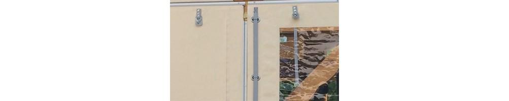 Accessoires fermeture de terrasse   Bâches Laily