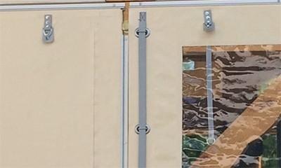 Accessoires pour fermeture de terrasse